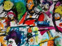 Farben, Surreal, Abstrakt, Skurril