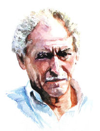 Portrait, Lage, Aquarellmalerei, Zeichnungen