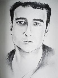 Mann, Portrait, Zeichnungen