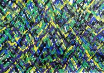 Leben, Abstrakt, Acrylmalerei, Malerei
