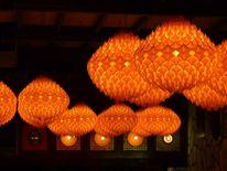 Orange, Licht, Beleuchtung, Lampe