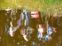 Spiegelung, Wasser, Menschen, Fotografie