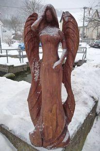 Holz, Engel