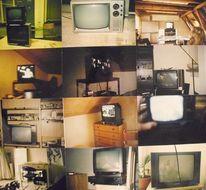 Fernseher, Zürich, Wild, Collage