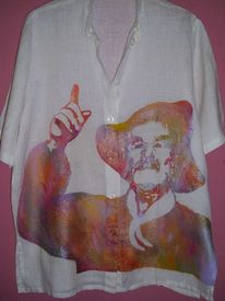 Painted clothes, Gott, Pfarrer, Mode