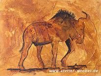 Gnu, Jagd, Prähistorisch, Malerei