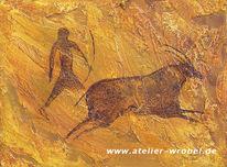 Caveart, Jagd, Prähistorisch, Malerei