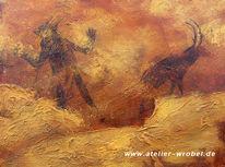 Höhlenmalerei, Caveart, Malerei, Jagd