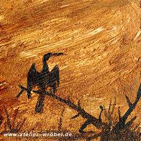 Tiere, Vogel, Malerei