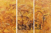Jagd, Malerei, Prähistorisch, Höhlenmalerei