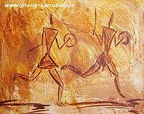 Höhlenmalerei, Caveart, Malerei, Prähistorisch