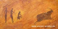 Jagd, Prähistorisch, Caveart, Höhlenmalerei