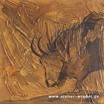 Jagd, Prähistorisch, Höhlenmalerei, Malerei
