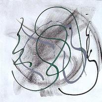 Acrylmalerei, Abstrakt, Malerei, Informel