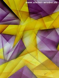 Malerei, Abstrakt, Kubismus, Kubistisch