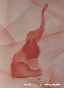 Airbrush, Malerei, Kubismus, Abstrakt