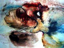 Gebrüll, Eisbär, Traum, Malerei