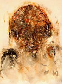 Mensch ignoranz, Malerei