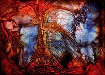 Herzblut, Malerei, Surreal