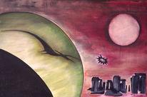 Raum, Zeit, Planet, Pteranodon