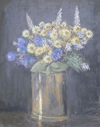 Sommer, Sommerblumen, Malerei
