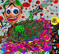 Digitale kunst, Surreal, Kids