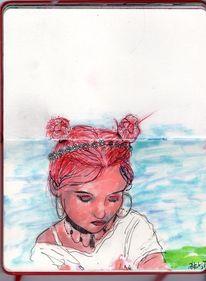 Zeichnungen, Aura,
