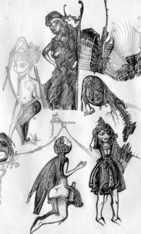 Zeichnungen, Altlasten