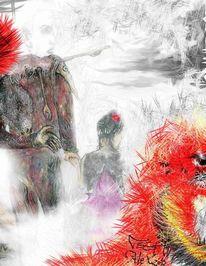 Zeichnungen, Surreal, Suche