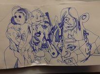 Zeichnungen, Schlaf,