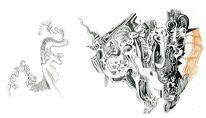 Zelle, Zeichnungen, Sterben