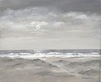Küste, Ruhe, Brandung, Meer