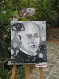 Spanien, Mann, Blase, Malerei