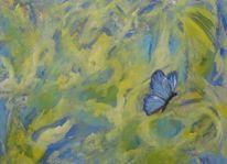 Schmetterling, Malerei, Sommer