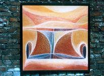 Rahmen, Frühwerk, Malerei, Abstrakt