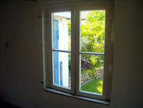 Fotografie, Garten, Fenster