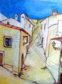 Häusergasse, Zeichnungen