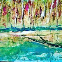Leben, Wald, Stimmung, Wachs
