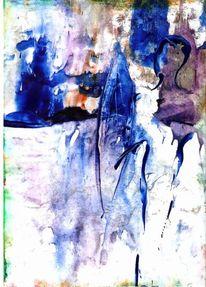 Krieger, Malerei, Abstrakt