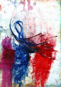 Tänzer, Malerei, Abstrakt