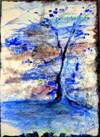 Klirrende kälte, Baum, Winterbaum, Eiszeit