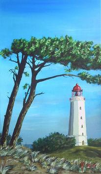 Leuchtturm, Hiddensee, Malerei
