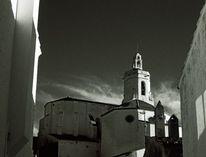 Analoge fotografie, Kirche, Syline, Cadaques