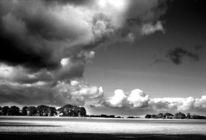 Fotografie, Analog, Himmel, Schwarzweiß