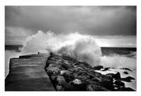 Fotografie, Welle, Meer, Landschaft