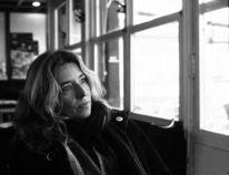 Portrait, Analoge fotografie, Frau, Kaffee