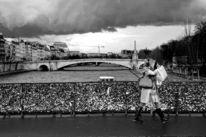 Gewitter, Paris, Schwarzweiß, Fotografie