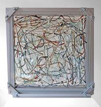 Schaukasten, Akkumulation, Durchlicht, Glas