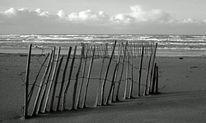 Analog, Nordsee, Strand, Wolken