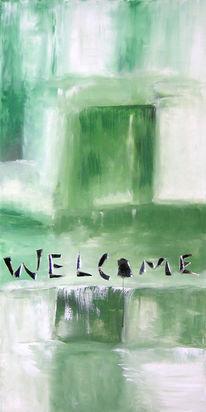 Willkommen, Grün, Plan, Western